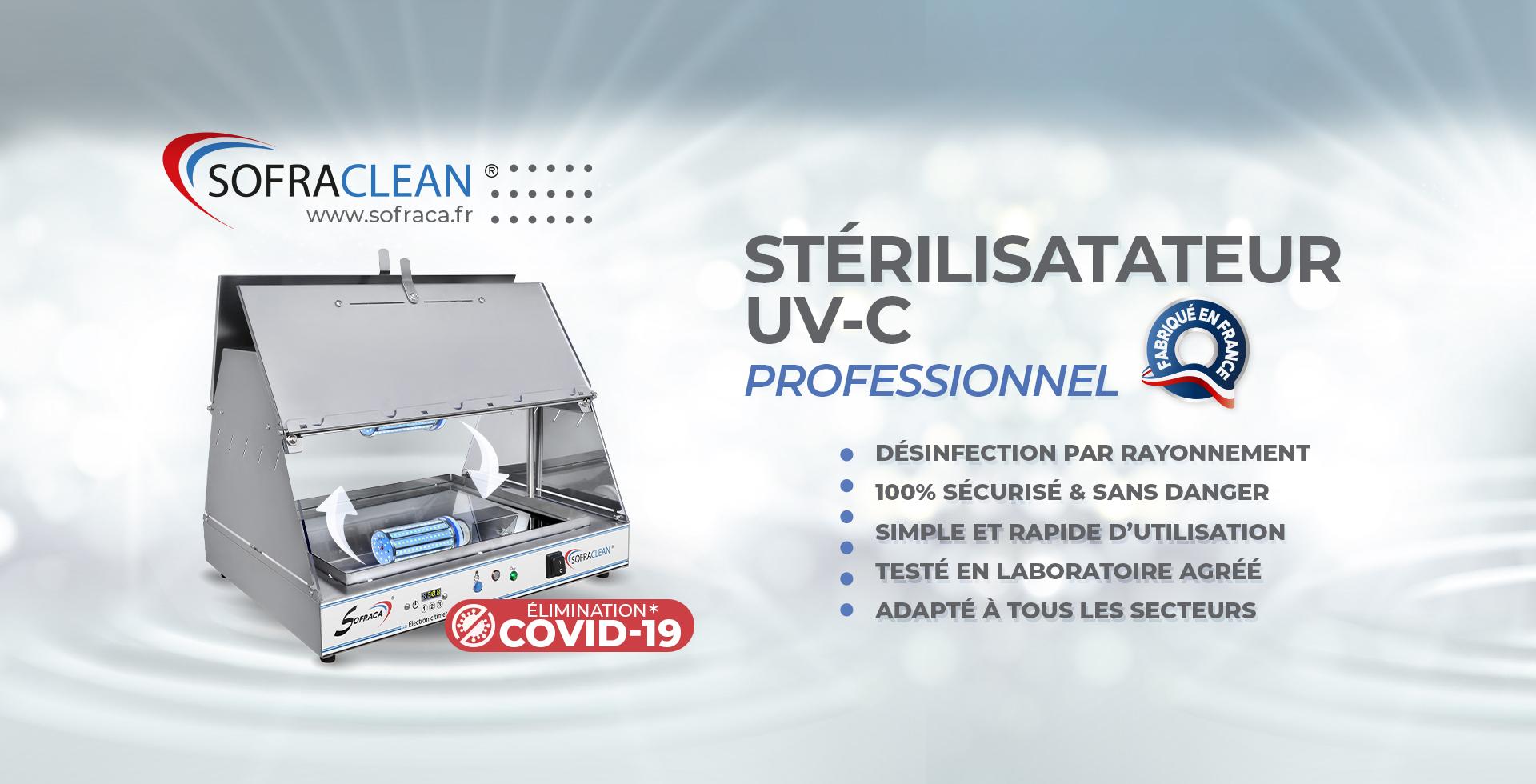 Stérilisateur UV-C