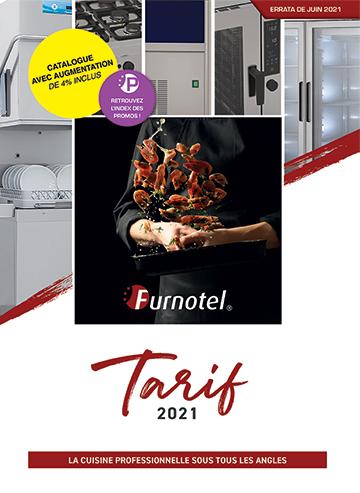 Tarif Furnotel 2021